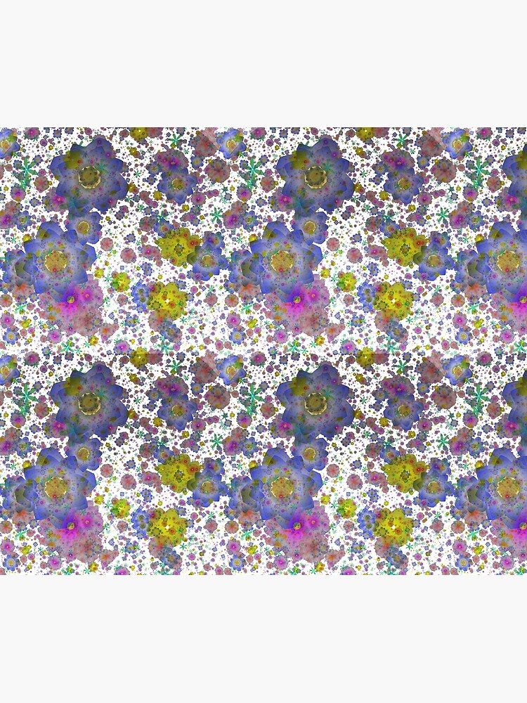 Floral pattern,transparent background by starchim01