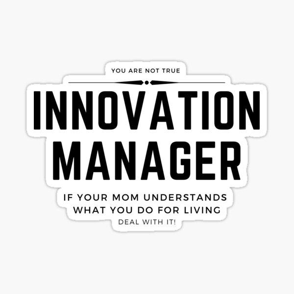 Startup Life: Gerente de innovación Pegatina