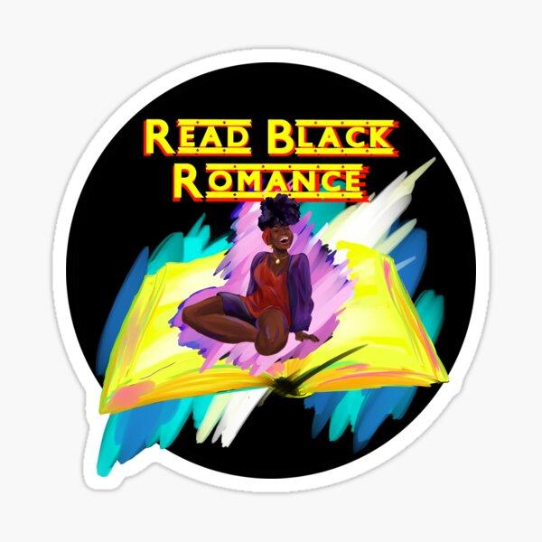 Read Black Romance - Charity Design!  Sticker