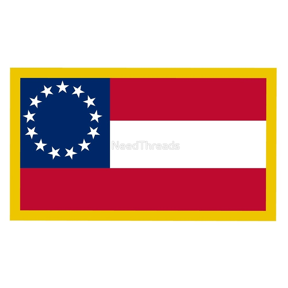 1st Confederate Flag by NeedThreads