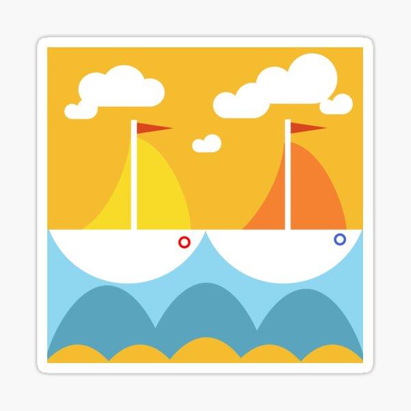 Sunny Summerfeeling Sticker