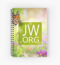 JW.ORG (Monarch Butterfly) Spiral Notebook