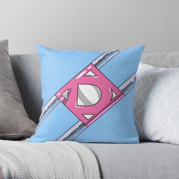 Diaperman Logo Throw Pillow