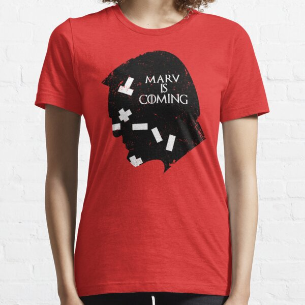 MARV IS COMING Essential T-Shirt
