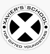 Xavier's School Sticker