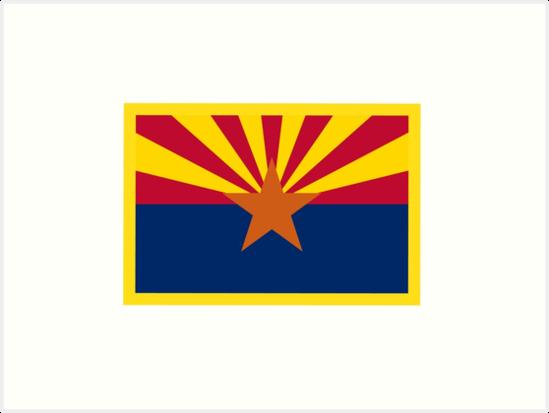 Arizona Flag by NeedThreads