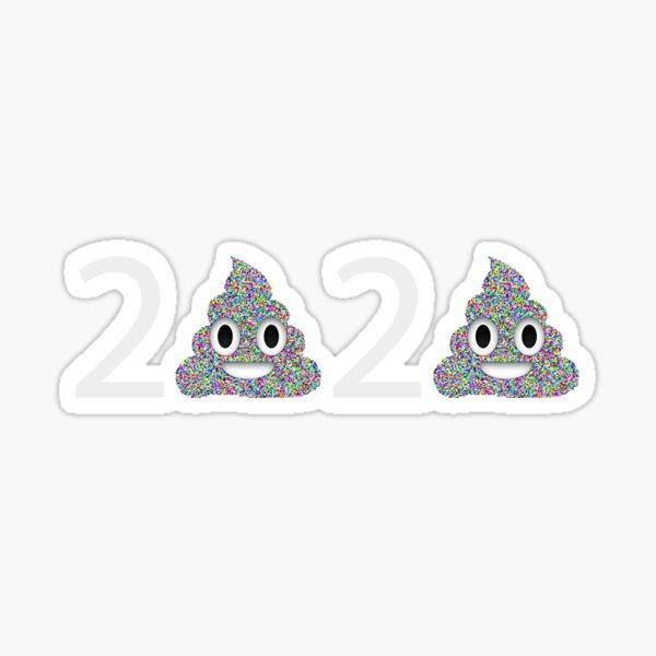 Poop Emoji 2020 Pile of Poo Sticker