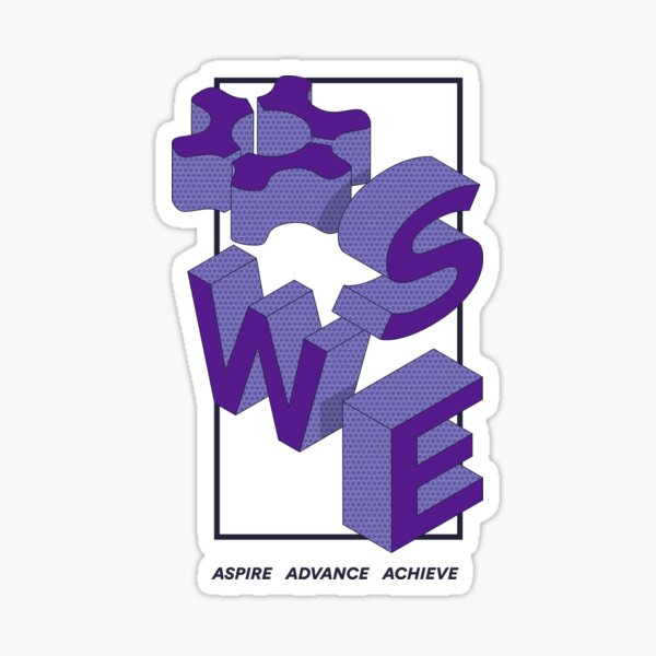 Retro 3D SWE Sticker