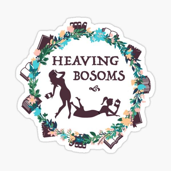Heaving Bosoms Wreath Sticker
