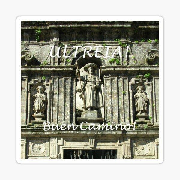 Ultreia! Buen Camino! Sticker
