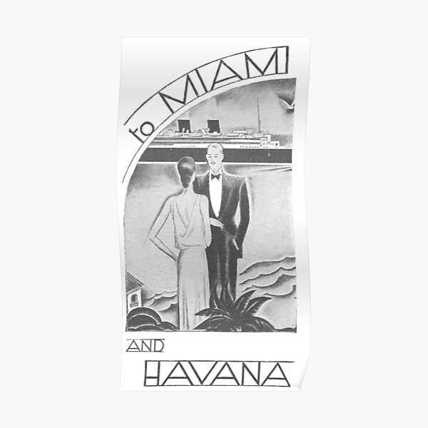 Vacation to Miami and Havana Poster