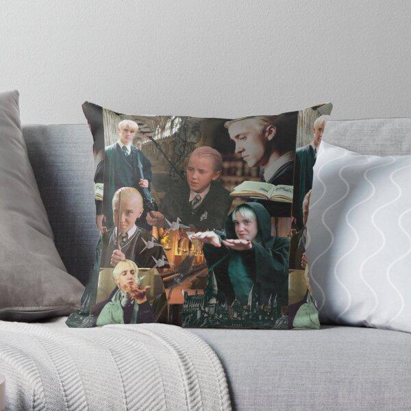 Collage || Draco Malfoy Throw Pillow