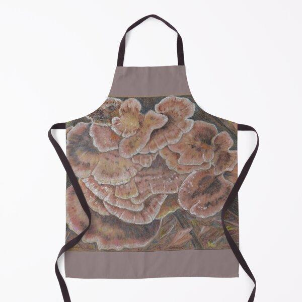 Brown Bracket Fungi 1 Apron