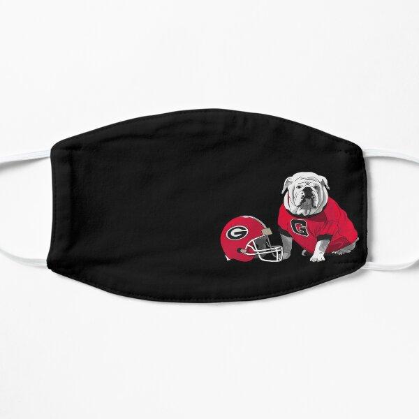 UGA Bulldog with Helmet Flat Mask