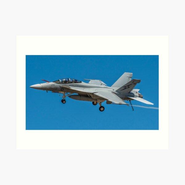 FA-18 Super Hornet Fly By Art Print