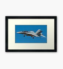 FA-18 Super Hornet Fly By Framed Print
