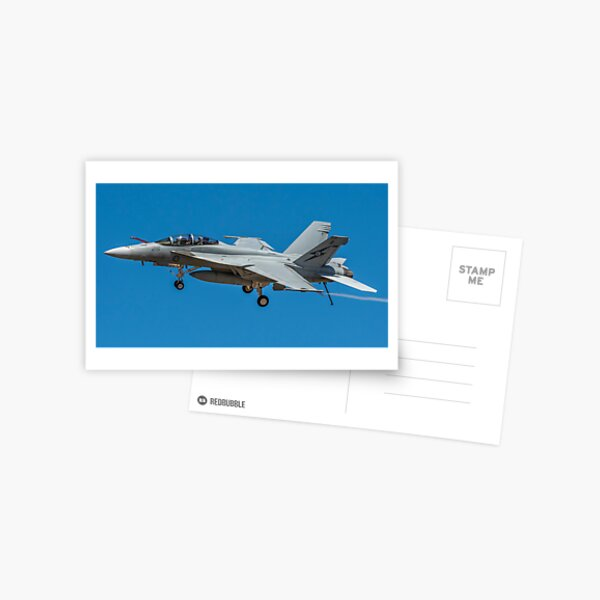 FA-18 Super Hornet Fly By Postcard