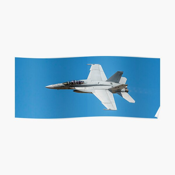 FA-18 Superhornet Poster