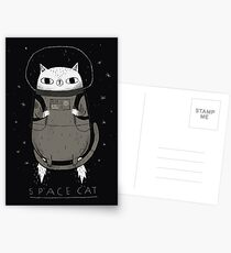 space cat Postcards