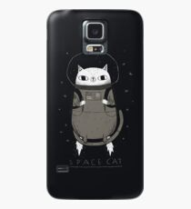 space cat Case/Skin for Samsung Galaxy