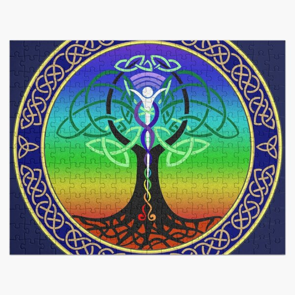 Celtic Tree of Life Jigsaw Puzzle