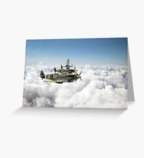 Polish Fighter Squadron Greeting Card