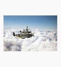 Polish Fighter Squadron Photographic Print