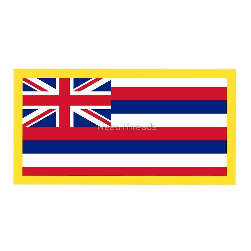 Hawaii Flag by NeedThreads
