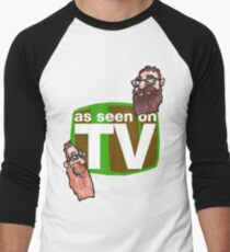 As seen on TV top Men's Baseball ¾ T-Shirt