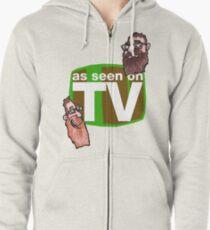 As seen on TV top Zipped Hoodie