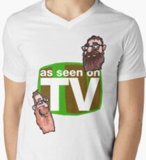 As seen on TV top Men's V-Neck T-Shirt
