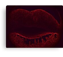 Poison Kiss Canvas Print