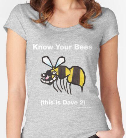 Bee top Women's Fitted Scoop T-Shirt