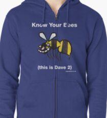 Bee top Zipped Hoodie