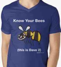Bee top Men's V-Neck T-Shirt