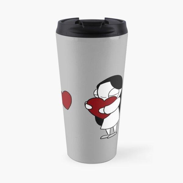 Catana Hearts Travel Mug