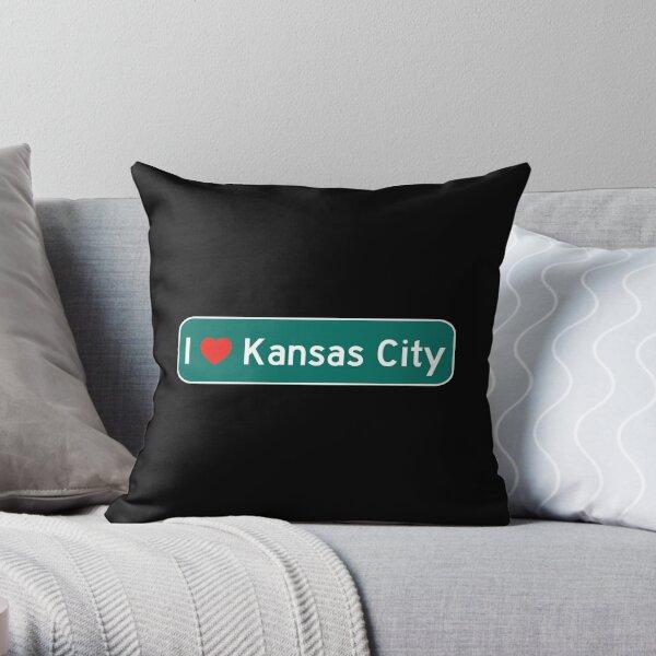 I Love Kansas City! Throw Pillow