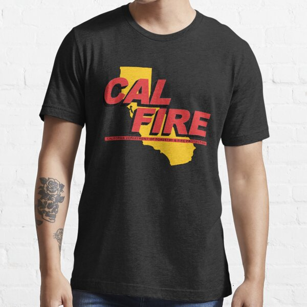 CAL FIRE -- Red and Gold Essential T-Shirt
