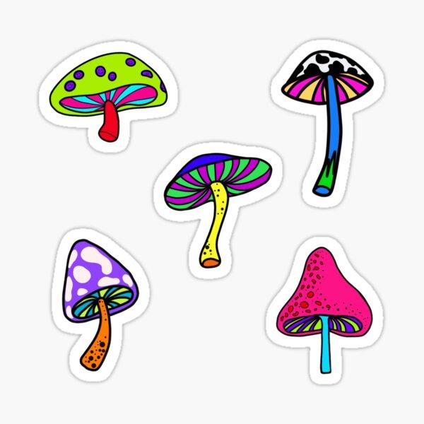 y2k mushrooms  Sticker