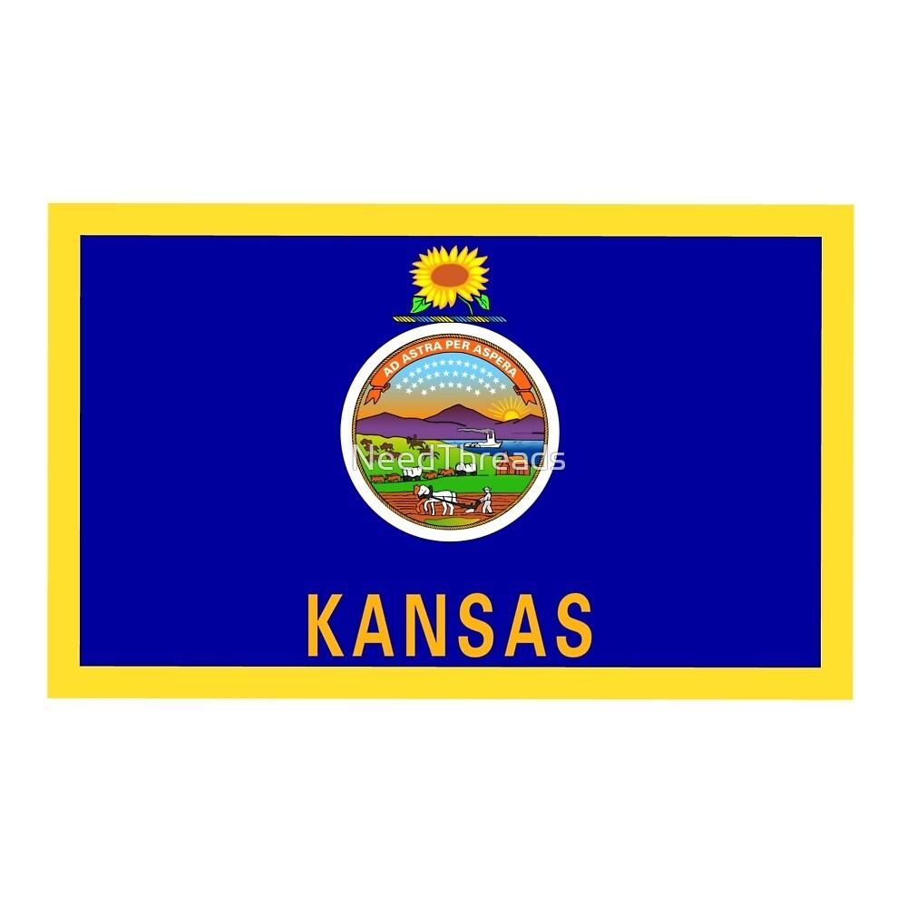 Kansas Flag by NeedThreads