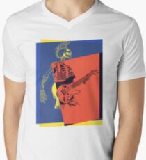 Pop Art Skeleton Guitar 3 T-Shirt