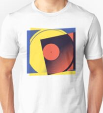Pop Art Vinyl Record 1 Unisex T-Shirt