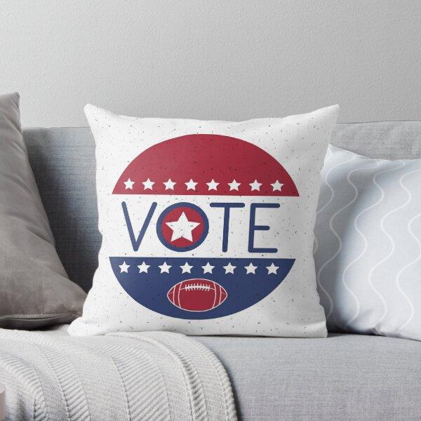 Chiefs Vote Football 2020 Throw Pillow