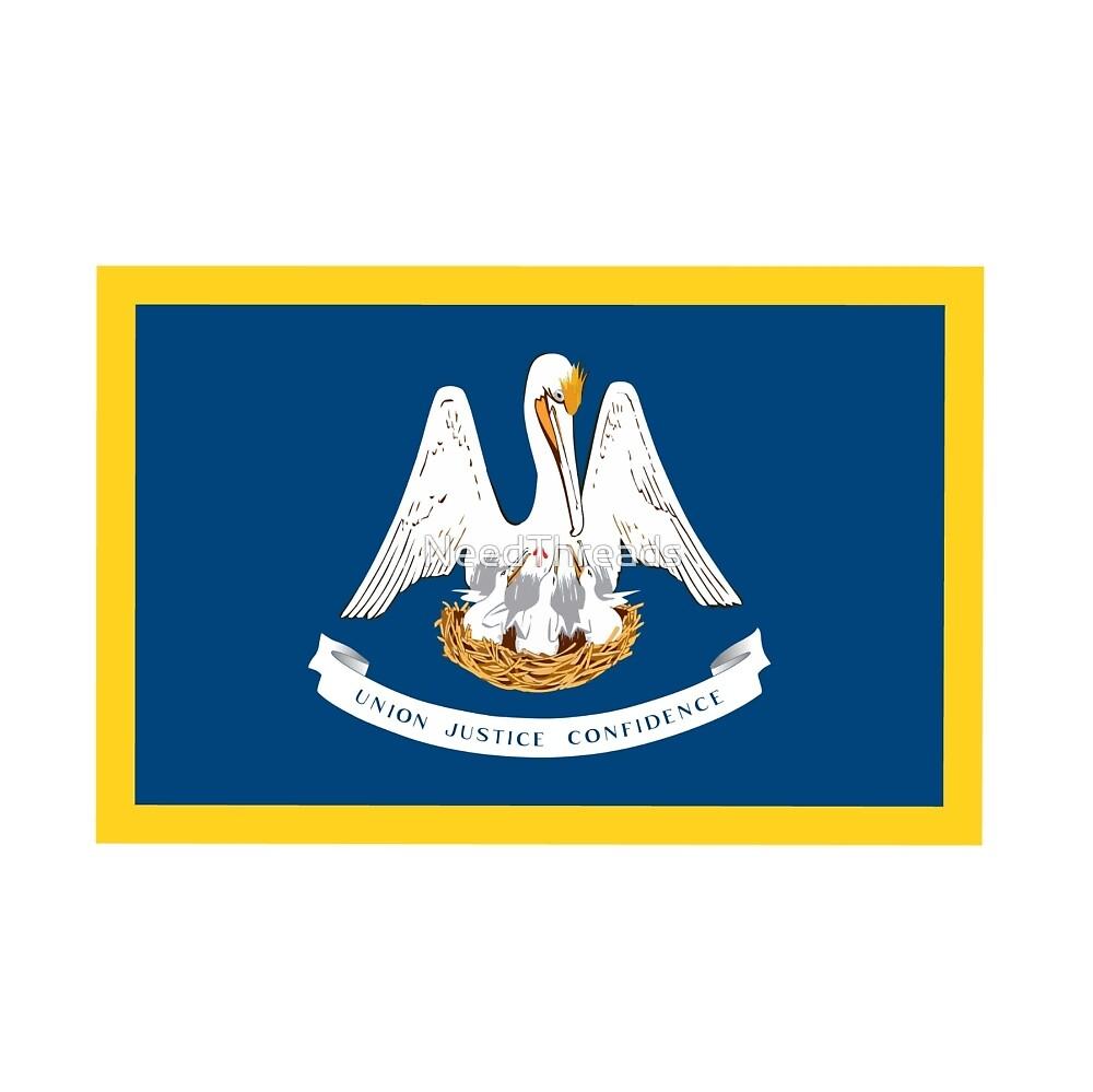 Louisiana Flag by NeedThreads