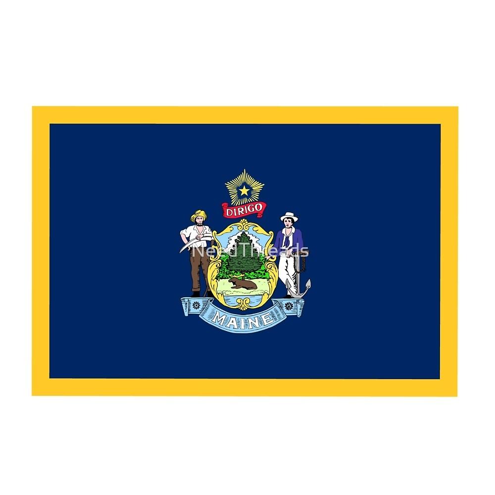 Maine Flag by NeedThreads