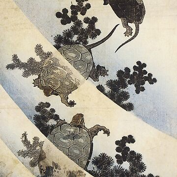 Hokusai - Turtles by carpediem6655