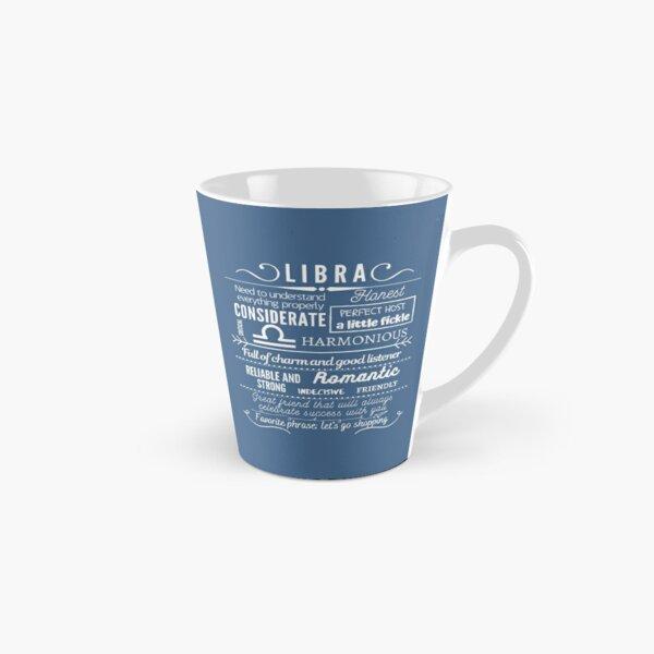 Libra Zodiac Sign Traits Tall Mug