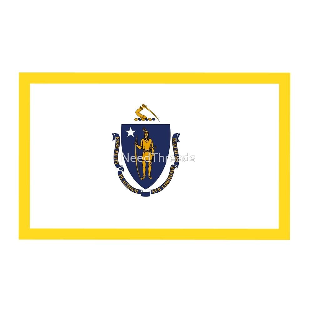 Massachusetts Flag by NeedThreads