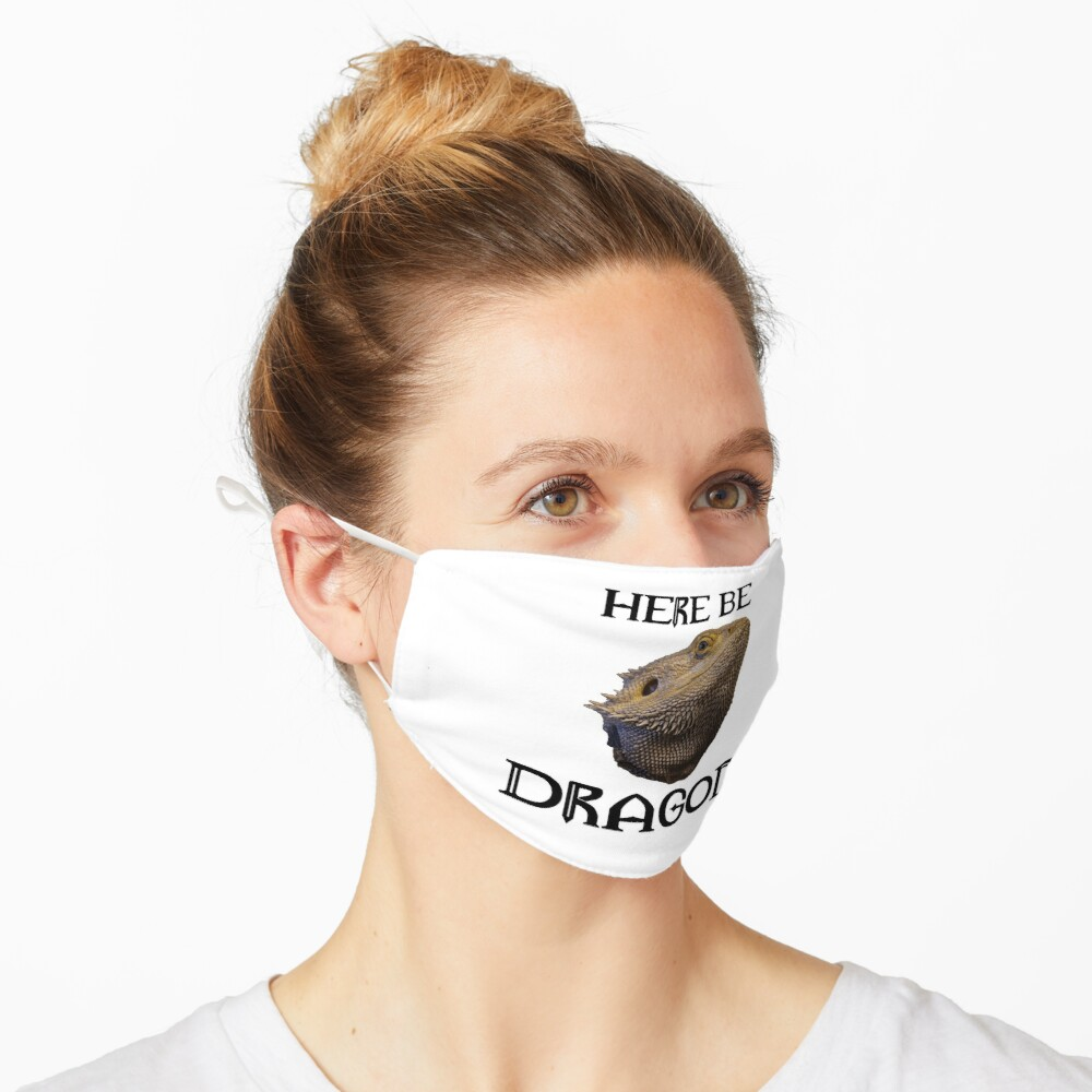Here Be Dragons Mask