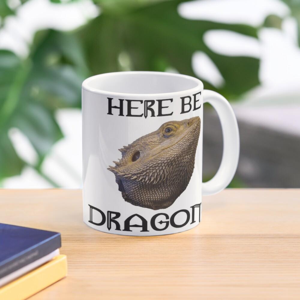 Here Be Dragons Mug